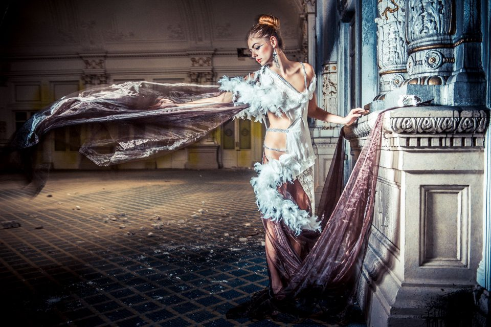 Top Urbex - Italie Photo Shoot - Modele Christelle Burrus