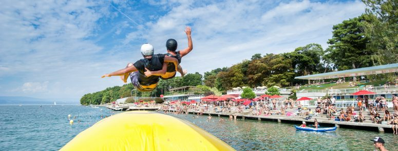 Blob Jump – Thonon avec Ultimate Family & Admotum