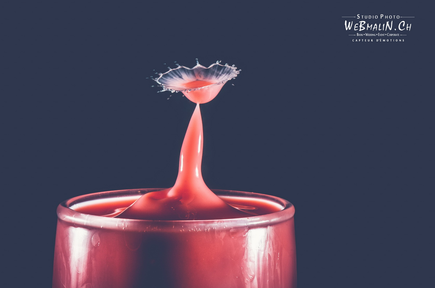 Portfolio - Liquid Art - Water Drops Photography