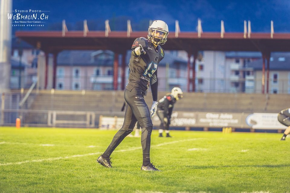 Reportage Foot US Black Panthers Vs Falcons de Bron Stade Joseph-Moynat Thonon
