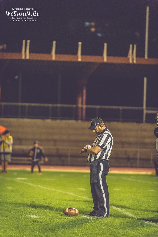 Reportage Foot US Black Panthers Vs Falcons de Bron Stade Joseph-Moynat Thonon