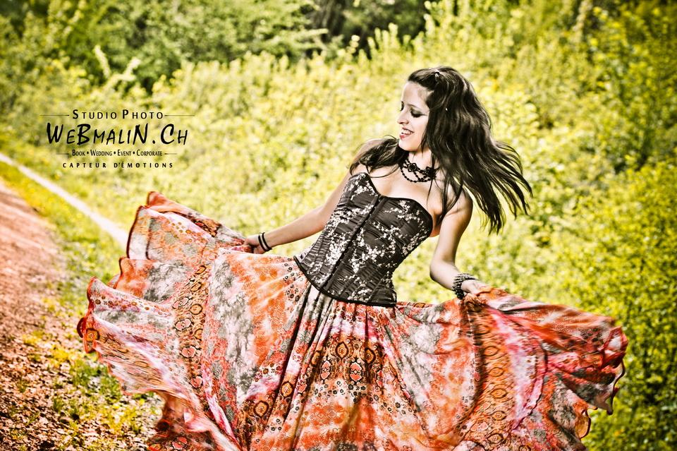 Post - Shooting Modele Danseuse - Aline