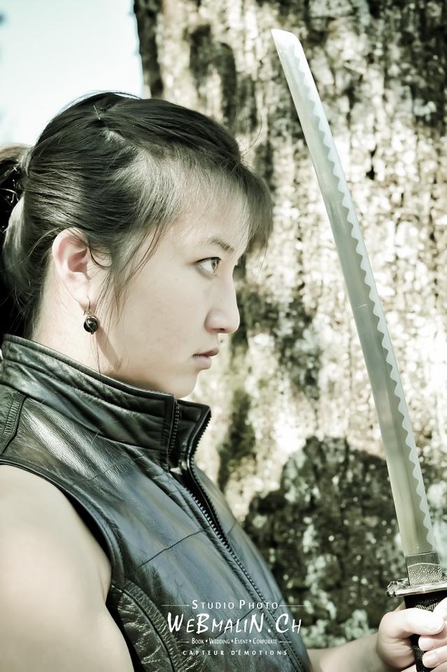 Post - Shooting Photo - Model Samourai - Marie