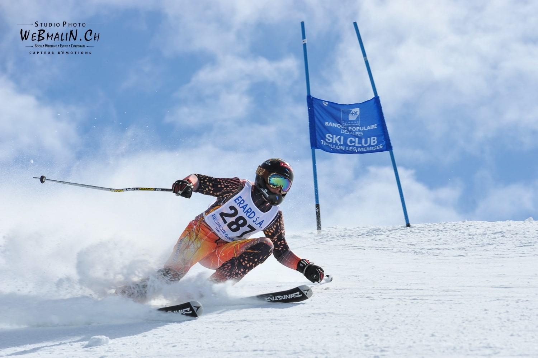 Competition Ski Club Thollon Les Memises - 1197-1