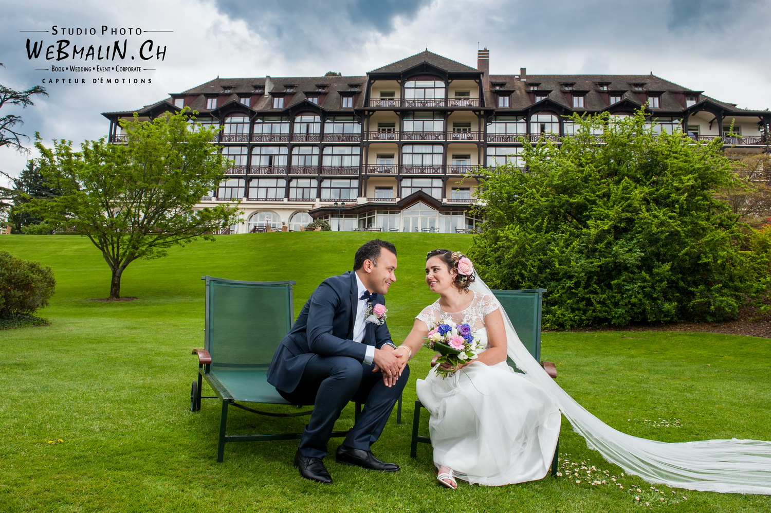 Mariage Evian Hotel Ermitage - Mohamed & Gaelle