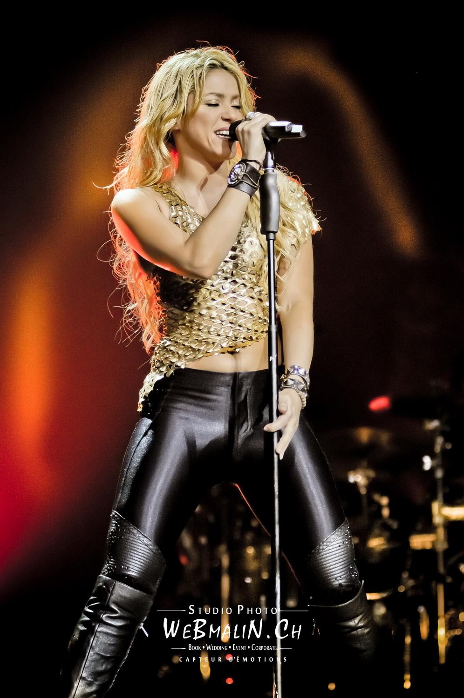 Portfolio - Concert - Arena Geneve - Shakira