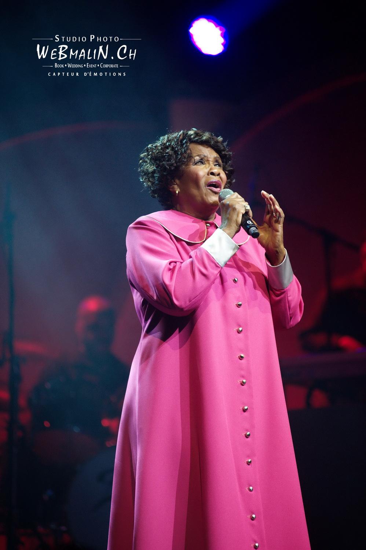 Portfolio - Concert - Théatre Leman Geneve - Harlem Gospel Singers Show