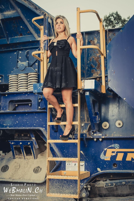 Portfolio - Fashion a Thonon- Modele Océane