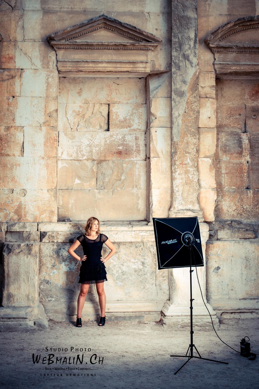 Portfolio - Photo - Backstage - Modele Laurie