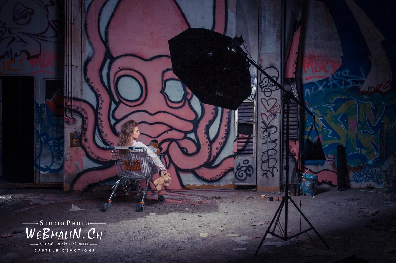 Portfolio - Photo - Backstage - Modele Magali