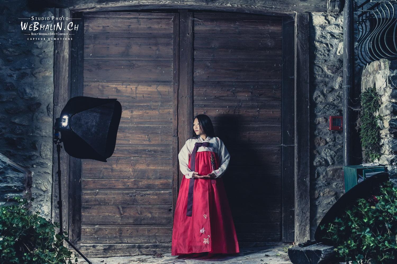 Portfolio - Photo - Backstage - Modele Marie Coline