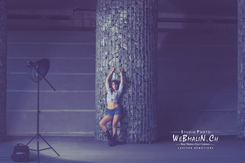 Portfolio - Photo - Backstage - Modele Noémie