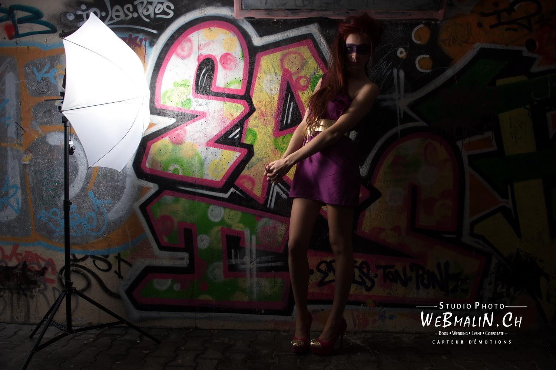 Portfolio - Photo - Backstage - Modele Sophie