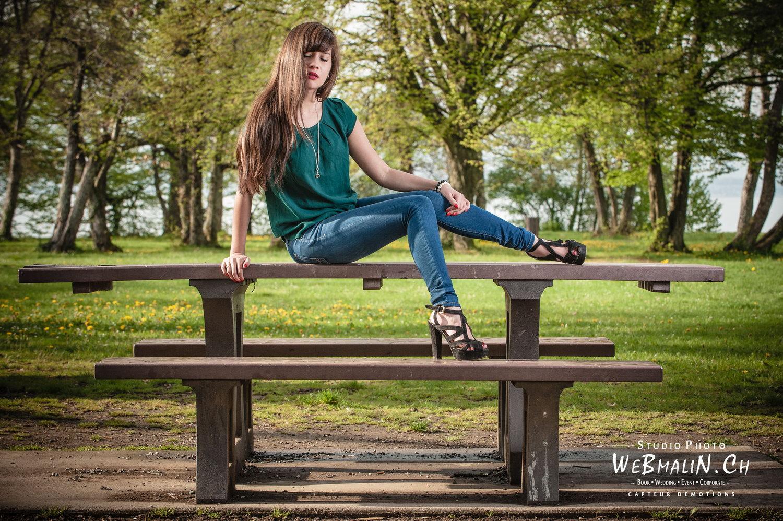 Portfolio - PhotoShoot - Fashion - Modele Sarah