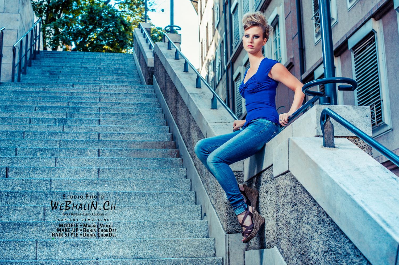 Portfolio - Shoot Fashion - Geneve - Modele Magalie