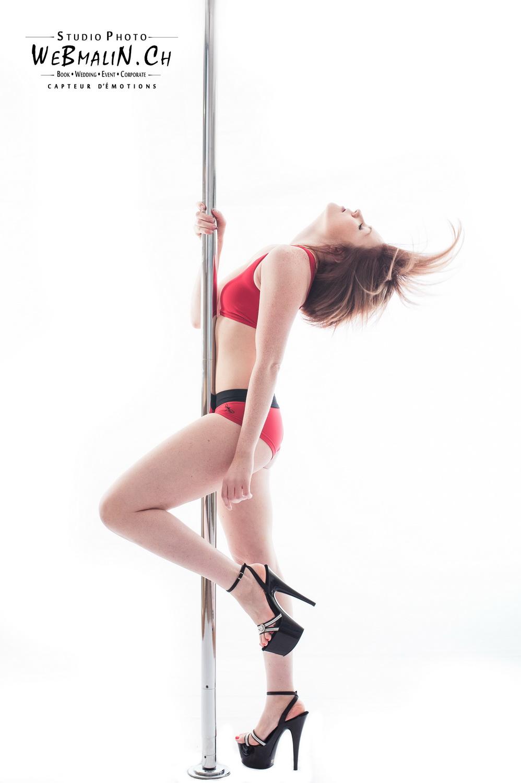 Portfolio - Sport - Pole Dance - Payerne - Laetitia Kramer