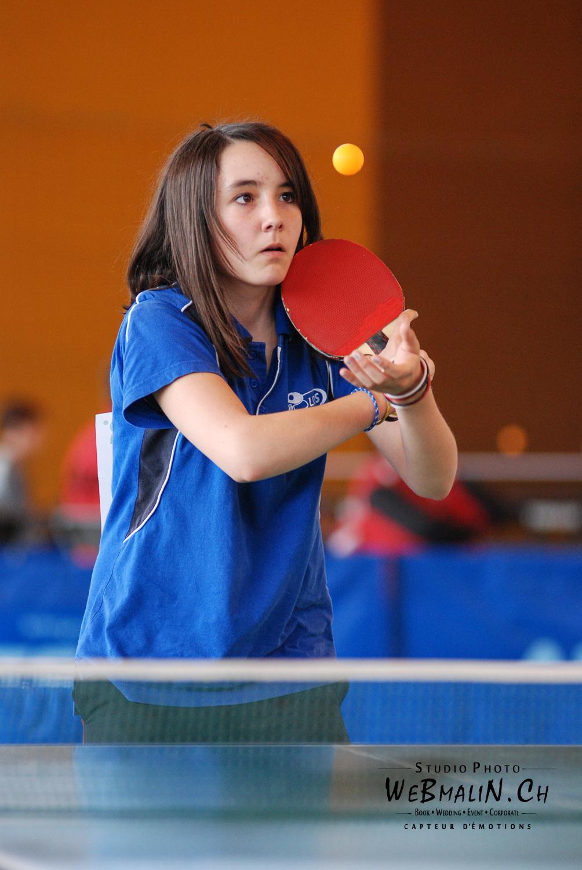 Tournoi - PingPong - Tennis de Table - Evian - Solene DENIS 9-1