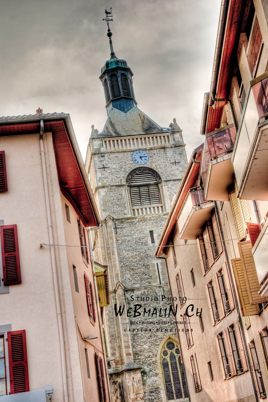 Portfolio - Paysage Urbain - Eglise Evian