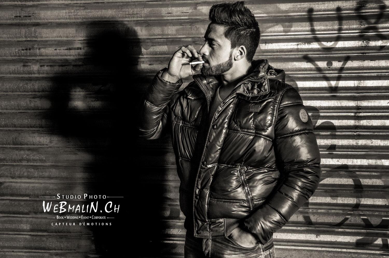Portfolio - Photoshoot Homme - Model Benjamin