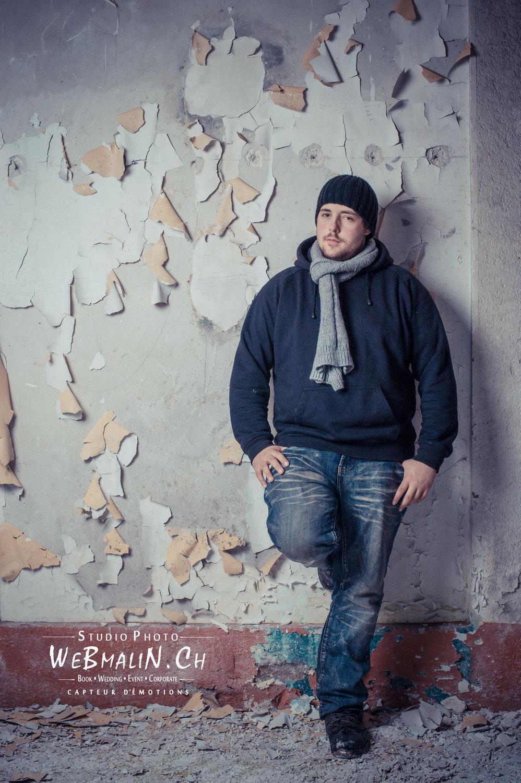 Portfolio - Photoshoot Homme - Model Benjy