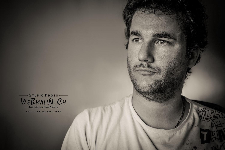 Portfolio - Photoshoot Homme - Model Franck