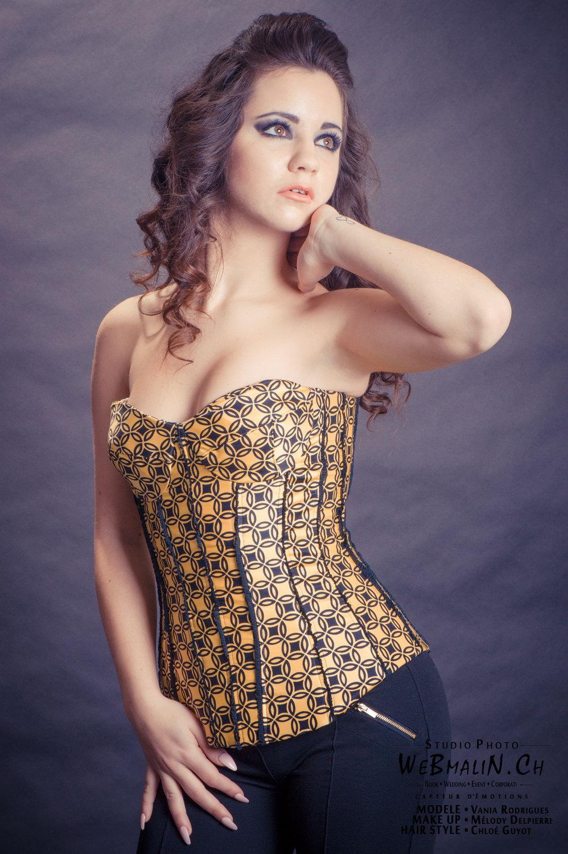 Portfolio - En Studio Et Styliste - Model Vania