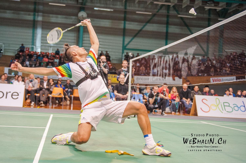Portfolio - Solibad Show - Badminton - Matthieu Lo Ying Ping