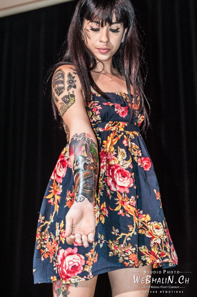 Post - Evian Tattoo Show - Model - Laura Tromben
