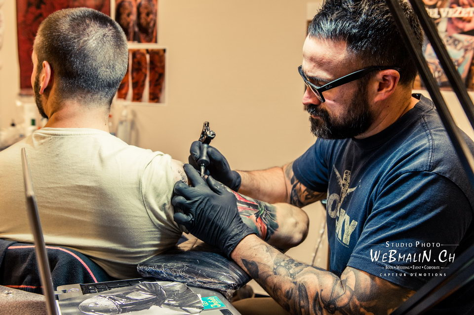 Post - Evian Tattoo Show - Tatoueur - Fabien Belveze
