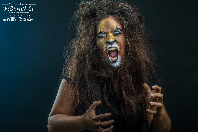 Portfolio - B&F Mag Shoot - Studio Geneve - Make Up Lise Nepoty