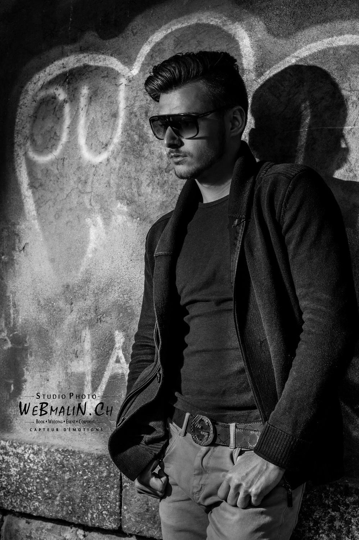 Portfolio - Shoot Anniversaire - Jeune Homme Thonon - Model Pierre